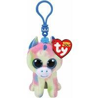 TY Blitz Unicorn Boo Clip Soft Toy