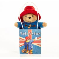 Paddington Bear Classic Soft Toy in Union Jack Bag