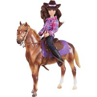 Breyer Classics West Horse & Rider