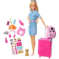 Barbie Doll and Travel Set