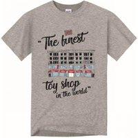 Hamleys T-Shirt Sketch 7-8 Grey