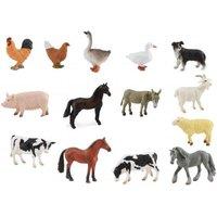 Hamleys Minifarm Animals Box Set 14Pcs