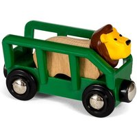 BRIO World: Safari Lion & Wagon