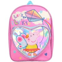 Peppa Pig Let'S Go Fly Kites' Fun Heart Arch School Backpack