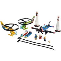 LEGO City Airport Air Race Toy Plane & Helicopters Set 60260