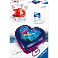 Ravensburger Mermaid Heart Shaped 54pc 3D Jigsaw Puzzle
