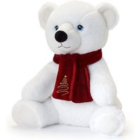 Keel Toys Keeleco Polar Bear W/Scarf (20cm)