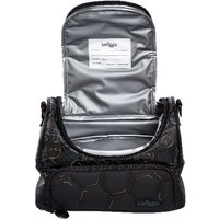 Smiggle Soccer Black Double-strap Lunchbox - Kick Collection