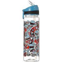 Smiggle Soccer Flip-top Water Bottle - Illusion Collection