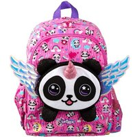 Smiggle Panda with Wings Pink Backpack