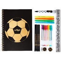 Smiggle Soccer Stationery Set in Pencil Case