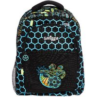 Smiggle Black Graphic Backpack - Far Away Collection