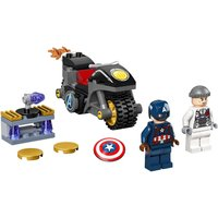 LEGO 76189 Marvel Captain America and Hydra Face-Off Building Set