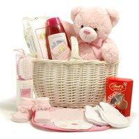 New Baby Girl  Basket - Baby Hampers