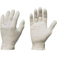 Trikot-Handschuh Jilin, Herrengr.,rohweiß