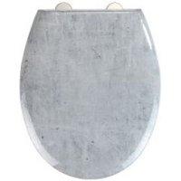 WC-Sitz Mod. Concrete Easy Close Duroplast