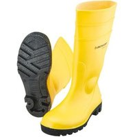 Bausicherheitsstiefel, gelb  PVC S5 Größe:43