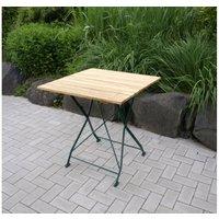 Klapptisch BAD TÖLZ Farbe:grün Maße:70x70cm