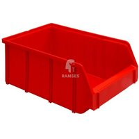 Lagerbox Kunststoff Farbe:rot Größe:2