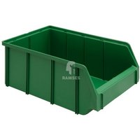 Lagerbox Kunststoff Farbe:grün Größe:2