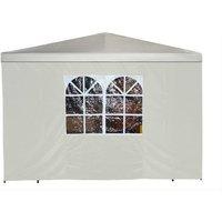 Seitenplane für Pavillon 3x3m Farbe:ecru