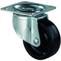 Lenkrolle BS-Rollen für weiche Böden Rollendurchmesser:25mm Lochabstand:29 x 29mm