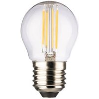 LED Leuchtmittel Tropfen Matt Fassung:E27 Leistung:2,5W Lichtfarbe:Warmweiß