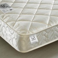 Premier Spring Quilted Fabric Mattress - 4ft Small Double (120 x 190 cm)