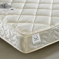 Eclipse Pocket Sprung 800 Quilted Fabric Mattress - 4ft6 Double (135 x 190 cm)