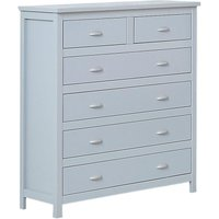 Kingston Grey Wooden 4+2 Drawer Chest