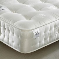 Signature Silver 1400 Pocket Sprung Orthopaedic Natural Fillings Mattress - 2ft6 Small Single (75 x 190 cm)