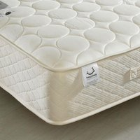 4ft6 Double Quilted Mattress Bamboo Natural Fillings - Mirage Spring