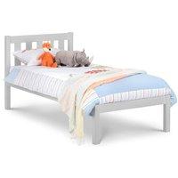 Luna Grey Wooden Bed Frame - 3ft Single