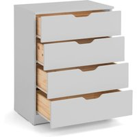 Pluto Dove Grey Wooden Chest of Drawers