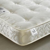 Gold Tufted Orthopaedic Spring Mattress - 4ft6 Double (135 x 190 cm)