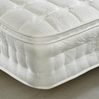 Anti-Bed Bug 1500 Pocket Sprung Memory, Latex and Reflex Foam Pillow Top Mattress - 6ft Super King Size (180 x 200 cm)