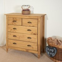 Pembroke Pine 3+2 Drawer Chest