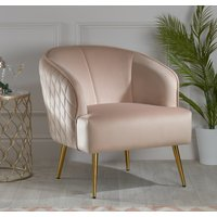 Bella Pink Fabric Chair