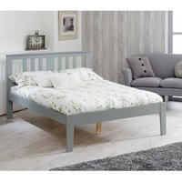 Kingston Grey Wooden Bed Frame - 5ft King Size