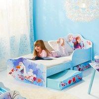 Frozen 2 Toddler 2 Drawer Storage Bed