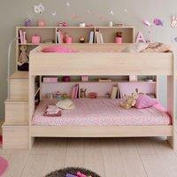 Bibop Acacia Wooden Bunk Bed Frame - EU Single