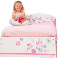 Flowers and Birds Toddler Bed