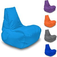 Bonkers Gamer Light Sky Blue Bean Bag