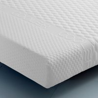 Impressions Laytech Memory, Latex and Reflex Foam Orthopaedic Mattress - European King Size (160 x 200 cm)