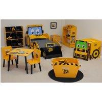 JCB Yellow Children's Digger Skip Toybox