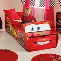 Cars Lightning McQueen Toddler Storage Bed