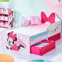 Minnie Mouse Toddler 2 Drawer Storage Bed