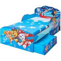 Paw Patrol Chase Toddler 2 Drawer Storage Bed
