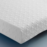 Pocket Comfort 3000 Individual Sprung Reflex Foam Support Orthopaedic Rolled Mattress - 4ft Small Double (120 x 190 cm)