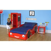 Red Racing Car Children's Table and 2 Chairs